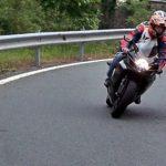 Polski motocyklista szalał koło Selby (Video)