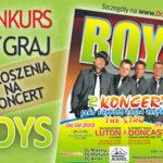 Konkurs zakończony: Wygraj bilety na koncert BOYS w Doncaster