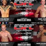 Dwóch Polaków na gali MMA CSFC 12 w Doncaster