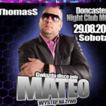 29.08.2015 – Disco Polo Night w Doncaster
