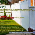 Eco Fences – Ogrodzenia PVC w UK. 20 lat gwarancji, darmowa instalacja!