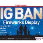 Big Bang Firework Display na Keepmoat Stadium