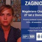 Trwają poszukiwania zaginionej Magdaleny Charciarek z Doncaster.
