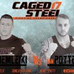Trzech Polaków na gali MMA CSFC17 w Doncaster.