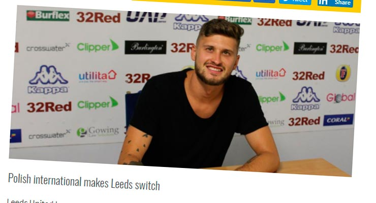Mateusz klich w Leeds United