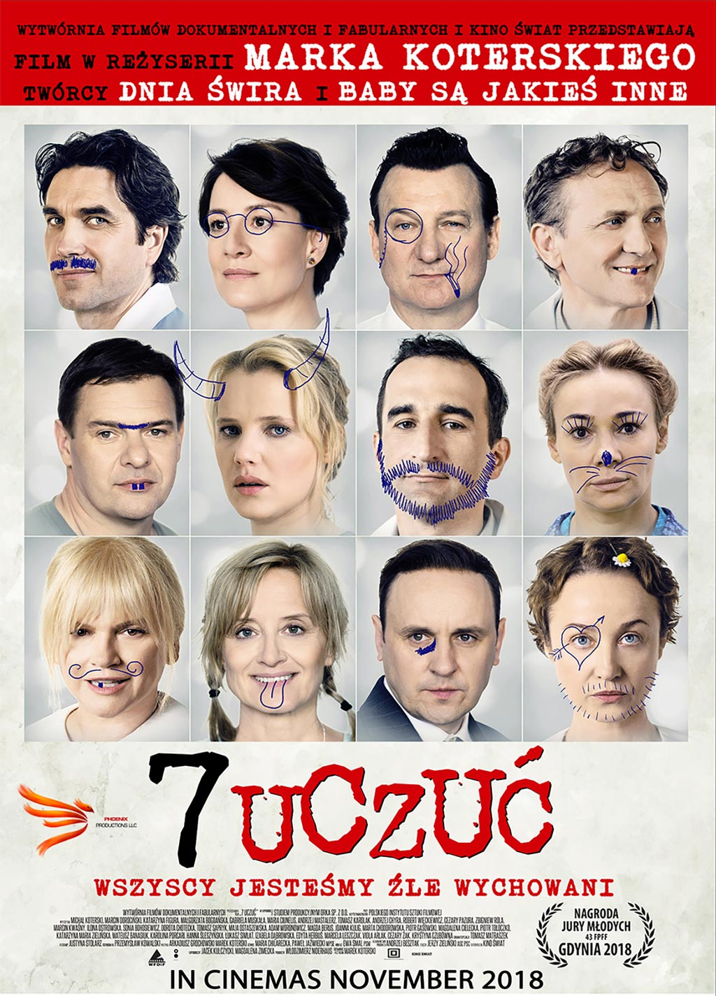 7 Uczuć w kinach w UK