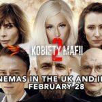 'Kobiety mafii 2' w kinach na terenie Yorkshire