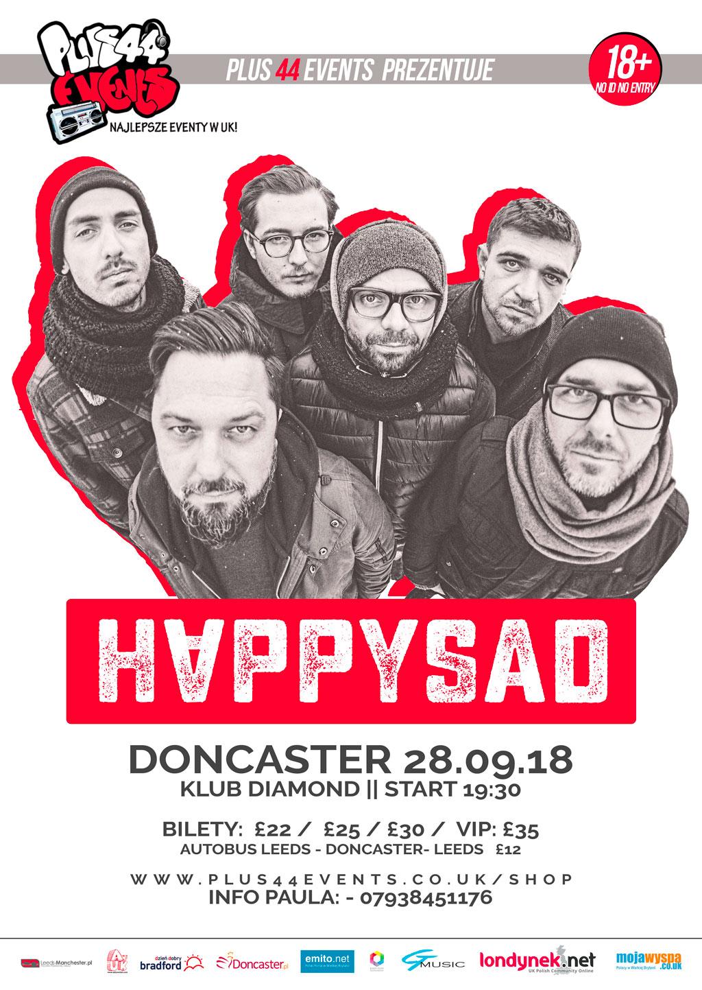 Happysad w Doncaster