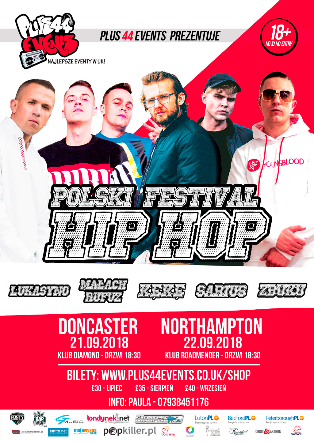 Polski festival Hip Hop w Doncaster