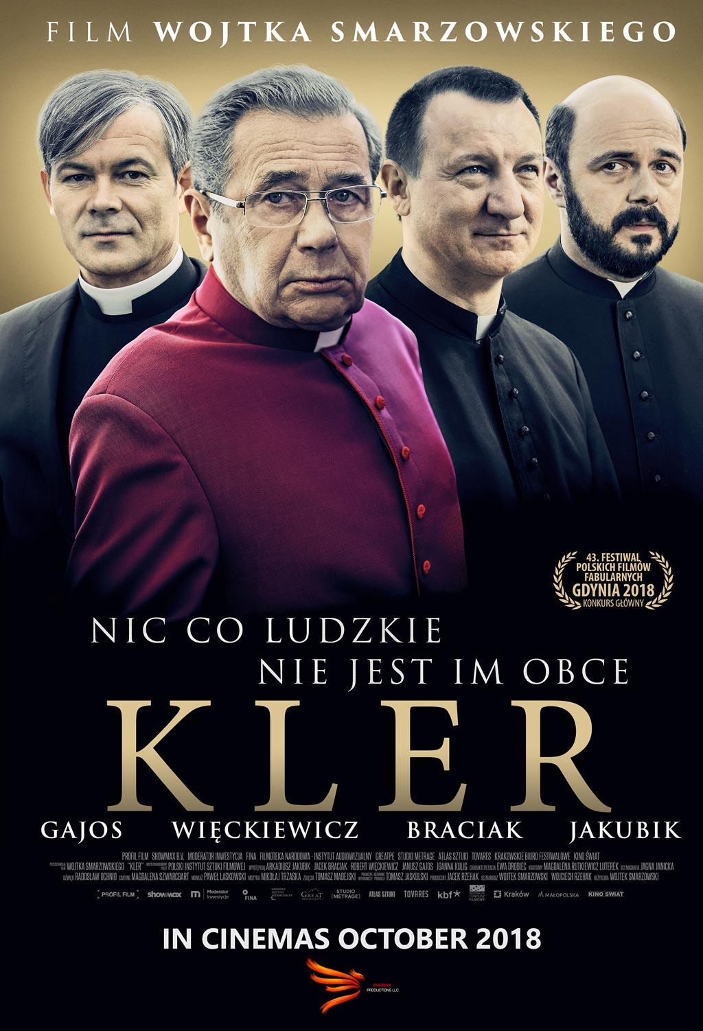 Film Kler w kinach w UK