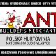Polska Hurtownia Matraiałów Budowlanych ANT BM